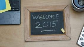 Accueil 2015 Images libres de droits