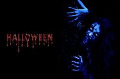 Accueil au Halloween Photographie stock libre de droits