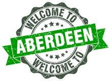 Accueil au joint d'Aberdeen illustration de vecteur