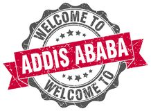 Accueil au joint d'Addis Ababa Image libre de droits