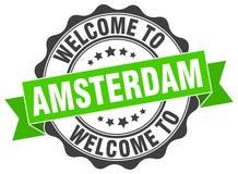 Accueil au joint d'Amsterdam illustration de vecteur