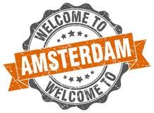 Accueil au joint d'Amsterdam illustration libre de droits