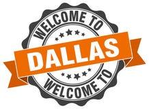 Accueil au joint de Dallas illustration libre de droits