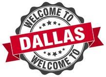 Accueil au joint de Dallas illustration de vecteur