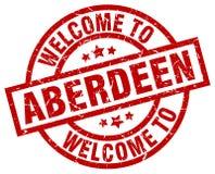 Accueil au timbre d'Aberdeen illustration libre de droits