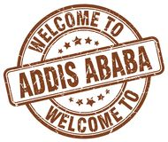 accueil au timbre d'Addis Ababa Illustration Libre de Droits