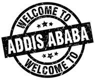 accueil au timbre d'Addis Ababa Illustration Stock