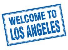 accueil au timbre de Los Angeles illustration libre de droits