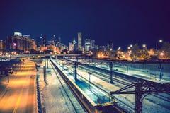Accueil Chicago photo libre de droits