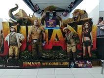 Accueil de Jumanji à la jungle photos libres de droits