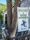 Accueil à Downieville, la Californie Images libres de droits