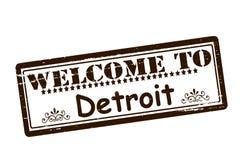 Accueil vers Detroit Images libres de droits