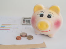 The accumulated money Stock Photography
