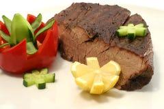Accumulation de viande de rôti Photographie stock