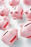 Accumulation Of Piggy Banks Stock Image