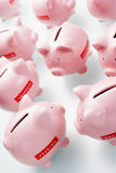 Accumulation Of Piggy Banks Stock Image