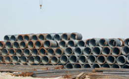 Accumulation of Steel Royalty Free Stock Photos