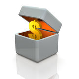 Accumulation of wealth. Royalty Free Stock Photos