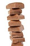 Accumulations de chocolat images stock