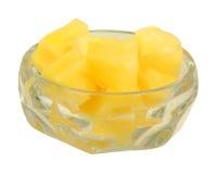 Accumulations gentilles d'ananas de vue image libre de droits