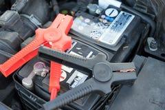 Accumulatore per di automobile Fotografia Stock