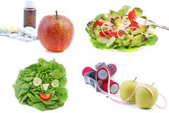 Accumulazione 1 di dieta Fotografie Stock