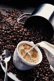 Accumulazione 4 del caffè Immagini Stock Libere da Diritti