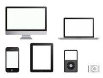 Accumulazione ALTA TECNOLOGIA dei prodotti Immagini Stock Libere da Diritti