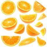 Accumulazione arancione Immagine Stock