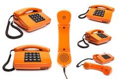 Accumulazione classica del telefono Fotografia Stock