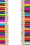 Accumulazione colorata delle matite Immagine Stock Libera da Diritti