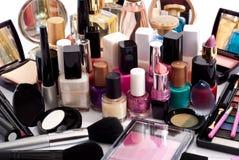 Accumulazione cosmetica Fotografia Stock Libera da Diritti