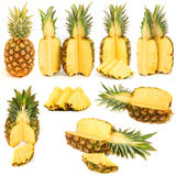Accumulazione degli ananas Fotografia Stock