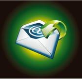 Accumulazione degli elementi di disegno dei email illustrazione di stock