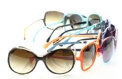Accumulazione degli occhiali da sole Immagini Stock