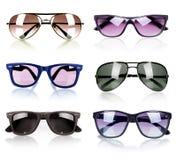 Accumulazione degli occhiali da sole Fotografia Stock Libera da Diritti