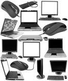 Accumulazione degli oggetti tecnici Immagine Stock