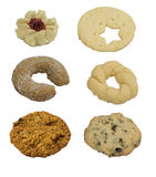 Accumulazione dei biscotti Immagine Stock