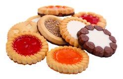 Accumulazione dei biscotti Immagine Stock Libera da Diritti