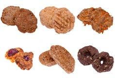 Accumulazione dei biscotti Fotografia Stock Libera da Diritti