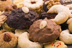 Accumulazione dei biscotti di natale Fotografie Stock