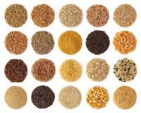 Accumulazione dei cereali Fotografie Stock