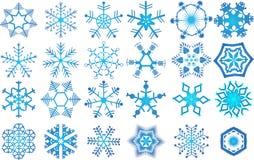 Accumulazione dei fiocchi di neve Immagine Stock Libera da Diritti