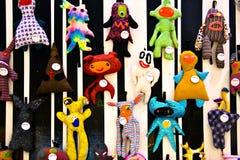 Accumulazione dei giocattoli molli Fotografie Stock Libere da Diritti