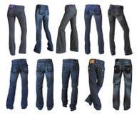 Accumulazione dei jeans Fotografia Stock