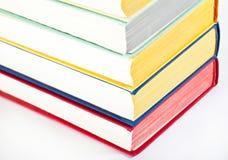 Accumulazione dei libri multicolori Immagini Stock