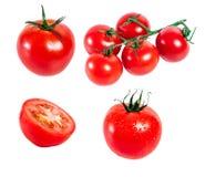 Accumulazione dei pomodori Immagini Stock