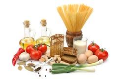 Accumulazione dei prodotti naturali Immagine Stock
