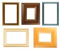 Accumulazione dei telai di legno Fotografie Stock Libere da Diritti