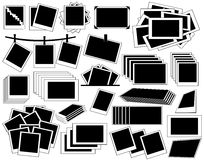 Accumulazione del blocco per grafici della foto Fotografie Stock Libere da Diritti